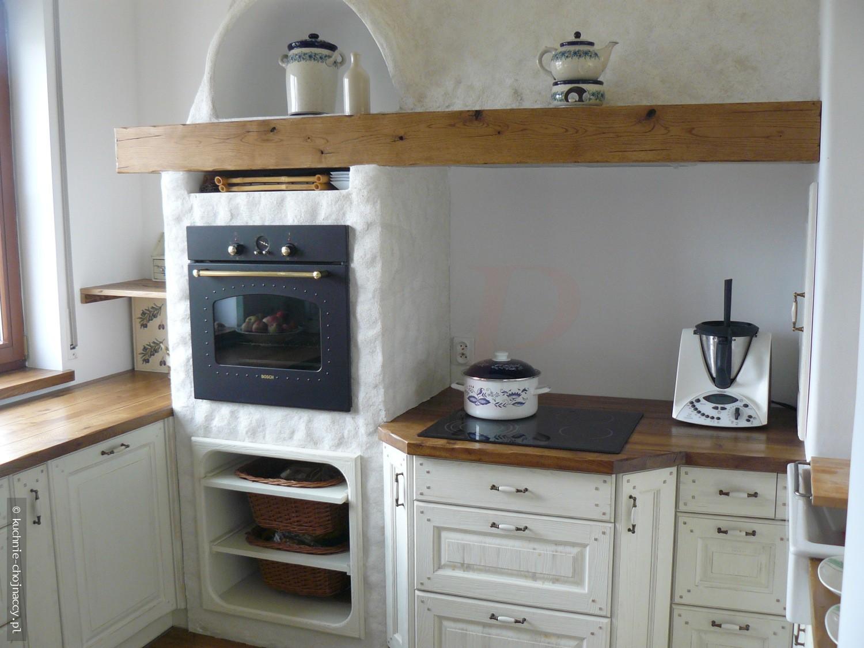 Kuchnia wiejska Bari  Kuchnie Chojnaccy  Meble kuchenne   -> Kuchnia Rustykalna Nowoczesna